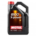 Olej Motul 10W60 8100 X-Power 5L