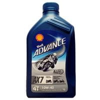Olej Shell 10W40 4T Advance AX-7 1L