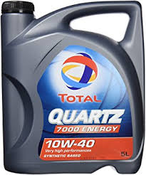 Olej Total 10W40 Quartz 7000 5L