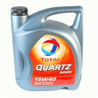 Olej Total 15W40 Quartz 5000 5L