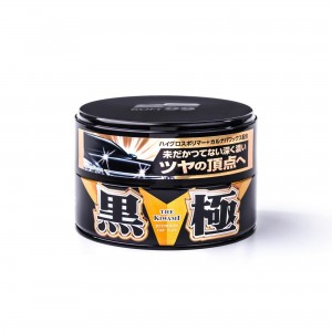 Soft99 Kiwami EXTREME GLOSS WAX Black Hard Wax 200g