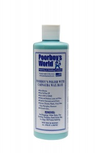 Poorboy's World Polish with Carnauba Wax Blue 473m