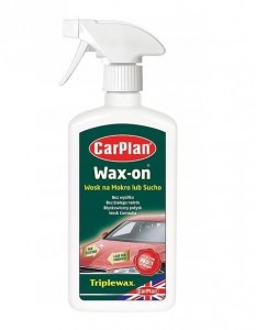 CarPlan Wax-on Wosk na sucho lub mokro 500ml