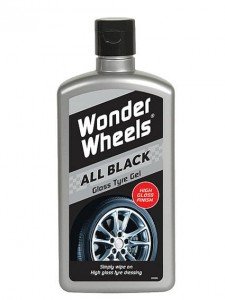 CarPlan Wonder Wheels All Black Gloss Tyre Gel Żel do nabłyszczania i konserwacji opon