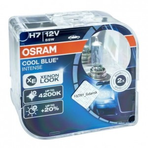 Osram Cool Blue Intense H7 12V 4200K 2 SZT