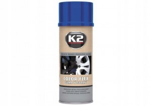 K2 Color Flex guma w sprayu niebieska 400 ML