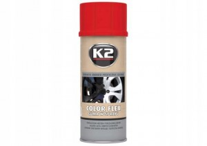 K2 Color Flex guma w sprayu czerwona 400 ml